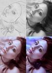 Amaranthine (Art Process)