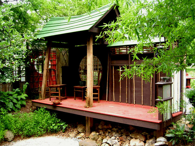 Backyard Japanese Tea House : Japanese Tea House by abreathoutofacoma on DeviantArt