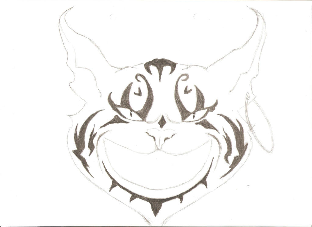 Line Drawing Cat Face : Easy cat face drawing how to draw a cute kitten tab