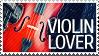 Violin Lover stamp by vadimfrolov