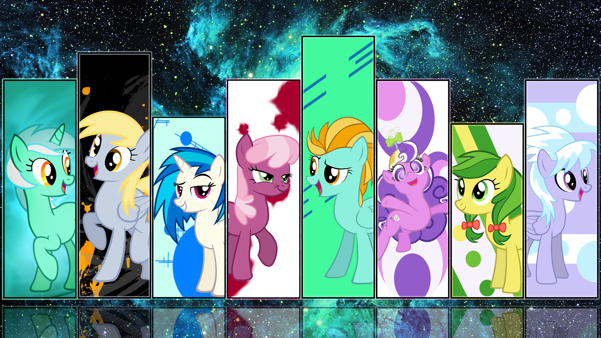 MLP Wallpaper By PhotonFurry