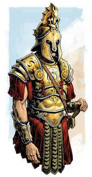 Hedonian Commander Helmet by Alexey Lipatov