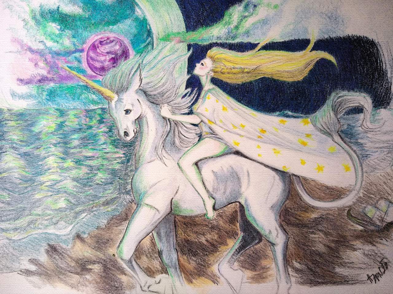 Radia and Amalthea by Heather Zanitsch