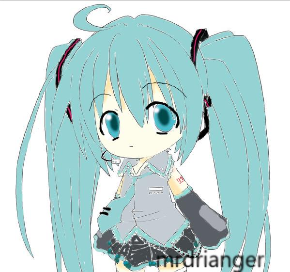 Hatsune Miku 2 By Mrdrianger On DeviantART