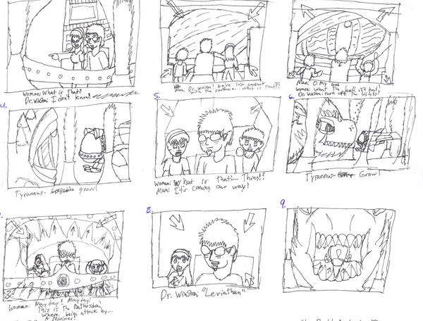 TwgStoryboard Sample By Creaturelord On Deviantart