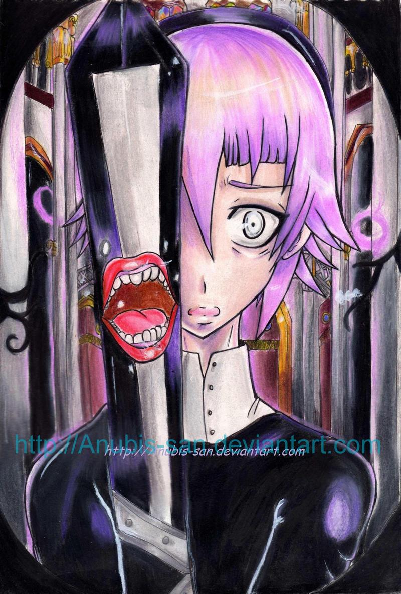 Chrona and Ragnarok-Soul eater by Anubis-san