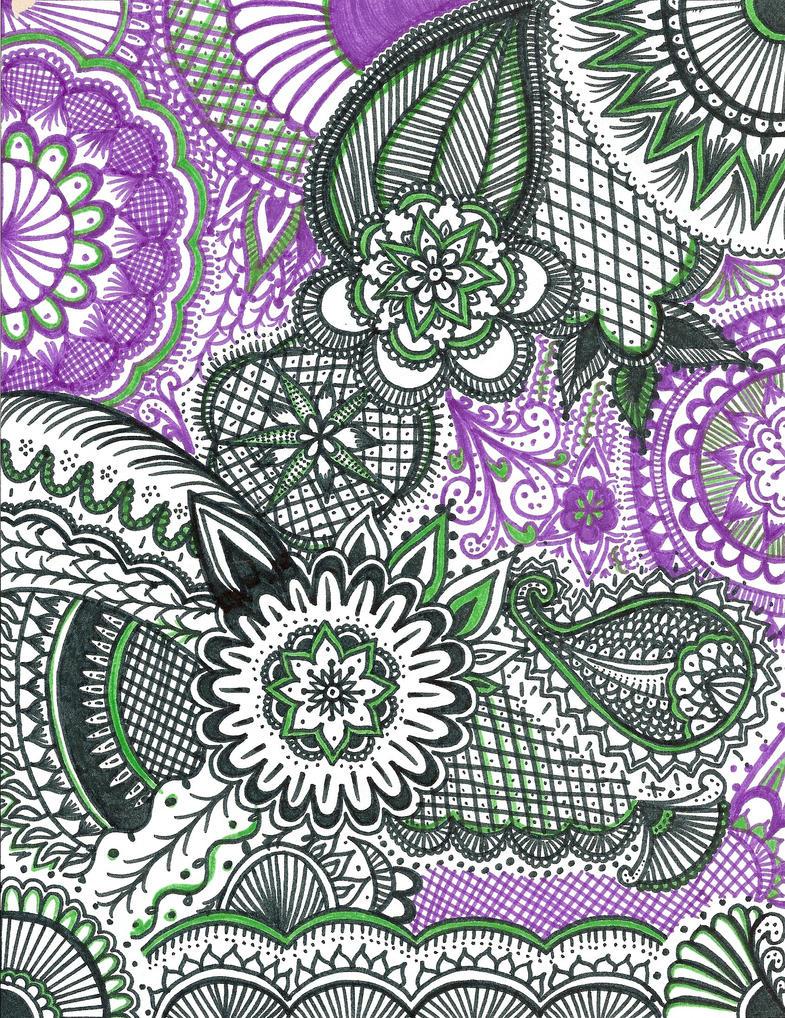 henna flowers by Frenchcake on DeviantArt
