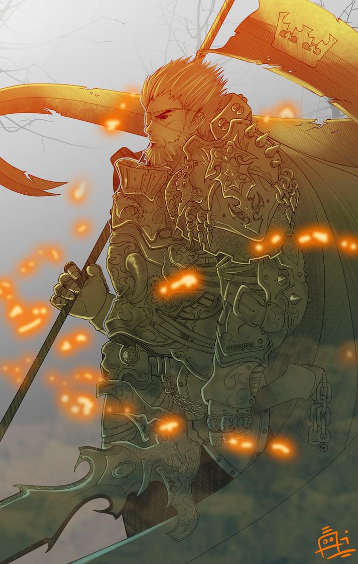 War Knight by Ran-Zu