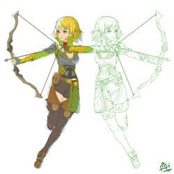 Archer by Ran-Zu