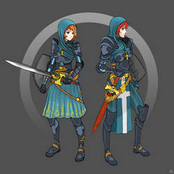 Scout/Knight by Ran-Zu