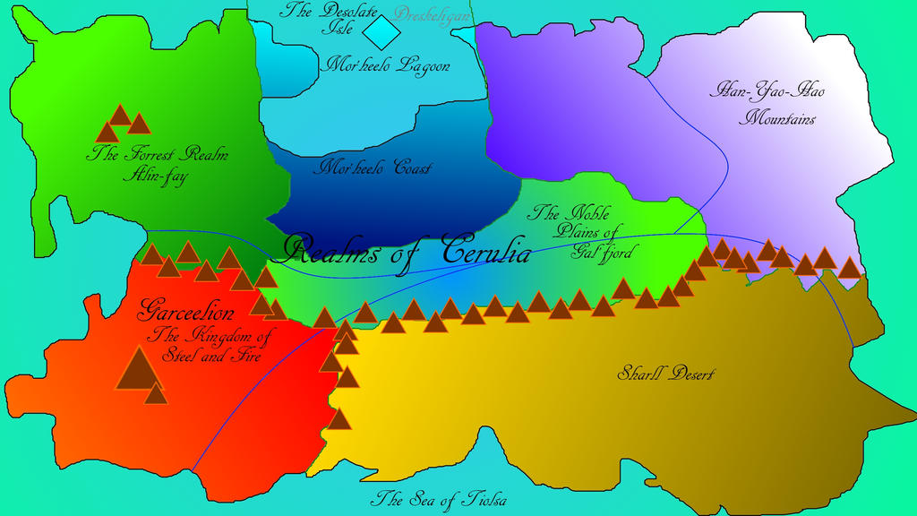 The Realms of Cerulia by TorarieUmbra