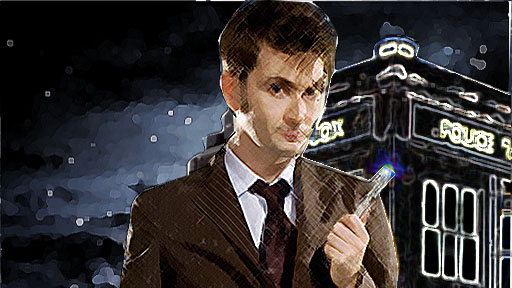 David Tennant Doctor Who by 1dhorseyblob