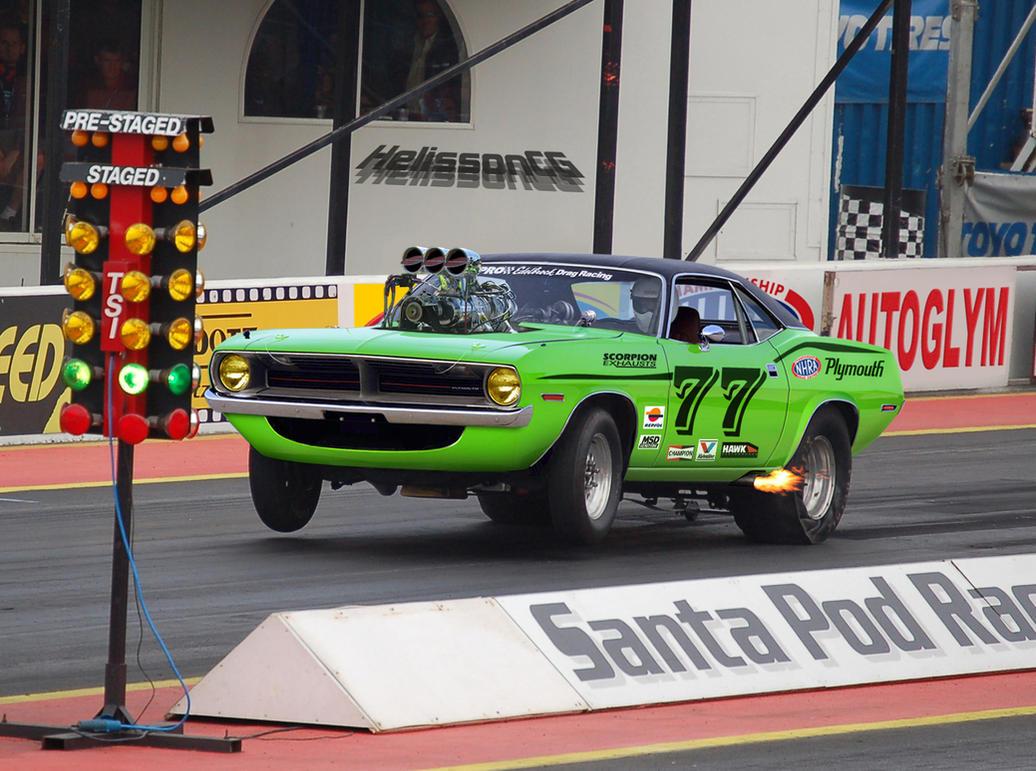 Cuda - Drag race car by HelissonCG on DeviantArt