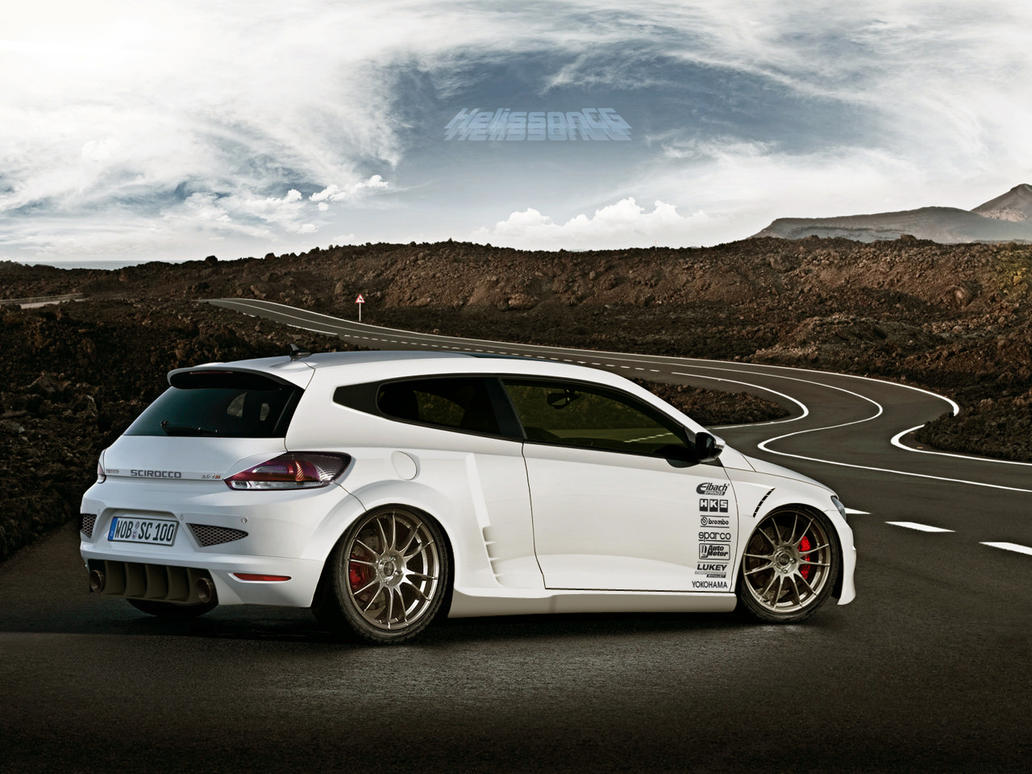 vw scirocco hi performance by helissoncg on deviantart