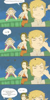 Skyward Sword Peatrice Comic