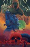 Godzilla vs King Kong by Erroseart