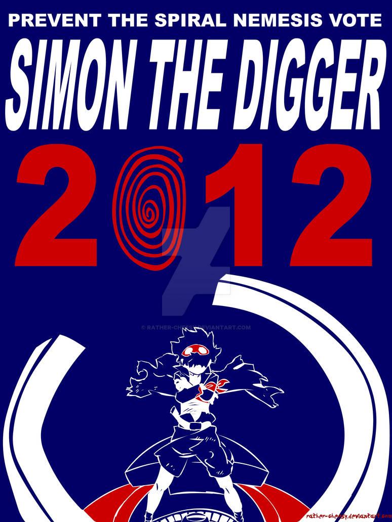 Simon 2012 - Campaign Poster