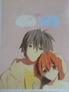 Nagisa and Tomoya by KittylovesFoxy