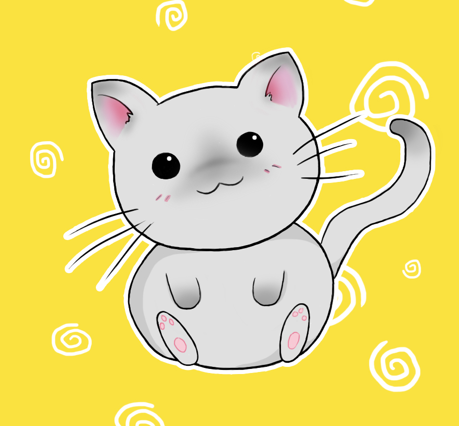 Cute Chibi Kitty By Amy Heartbreak ...