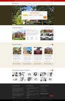 Free Home page PSD layout for Real Estate Website by MadanPatil