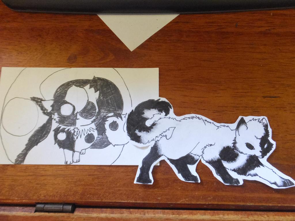 Random Ninja Fox redraw by grean5