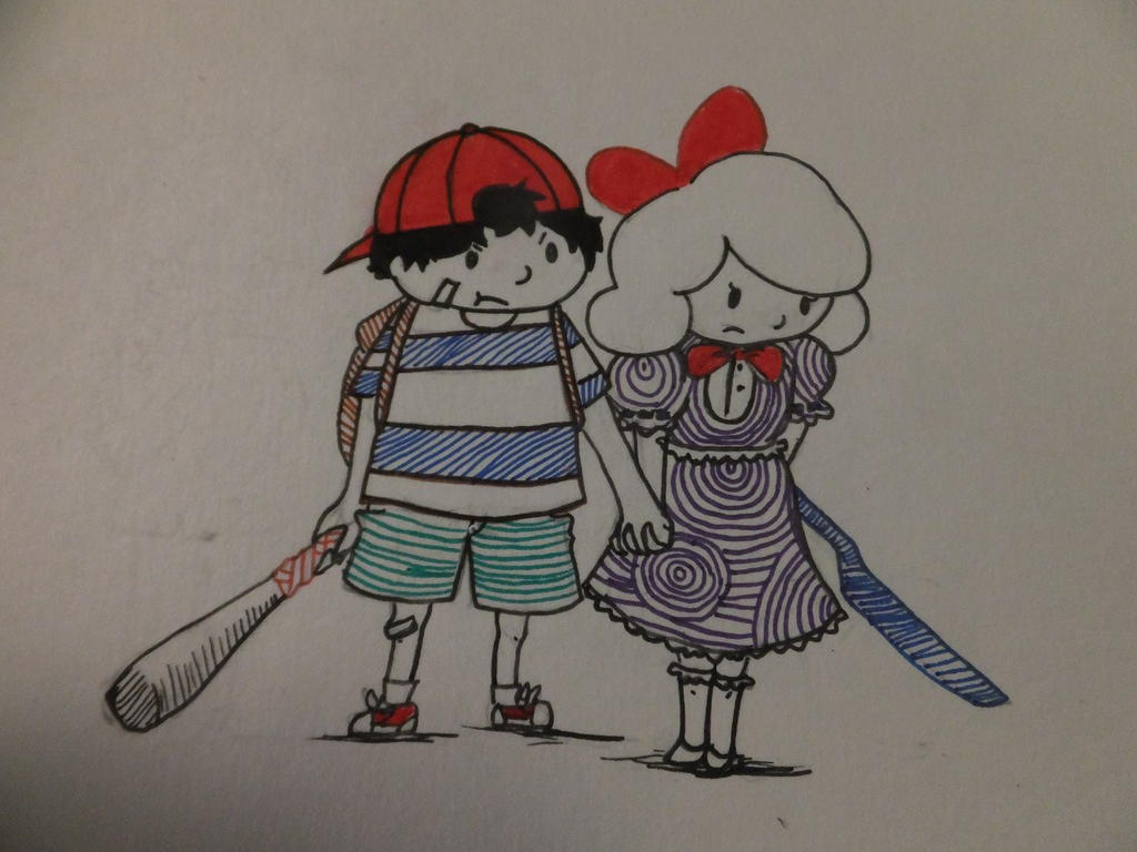 Ness and Paula by grean5