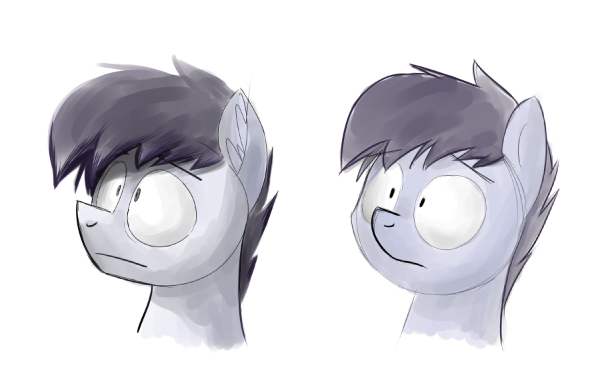 sketches of oc by PhoenixPony