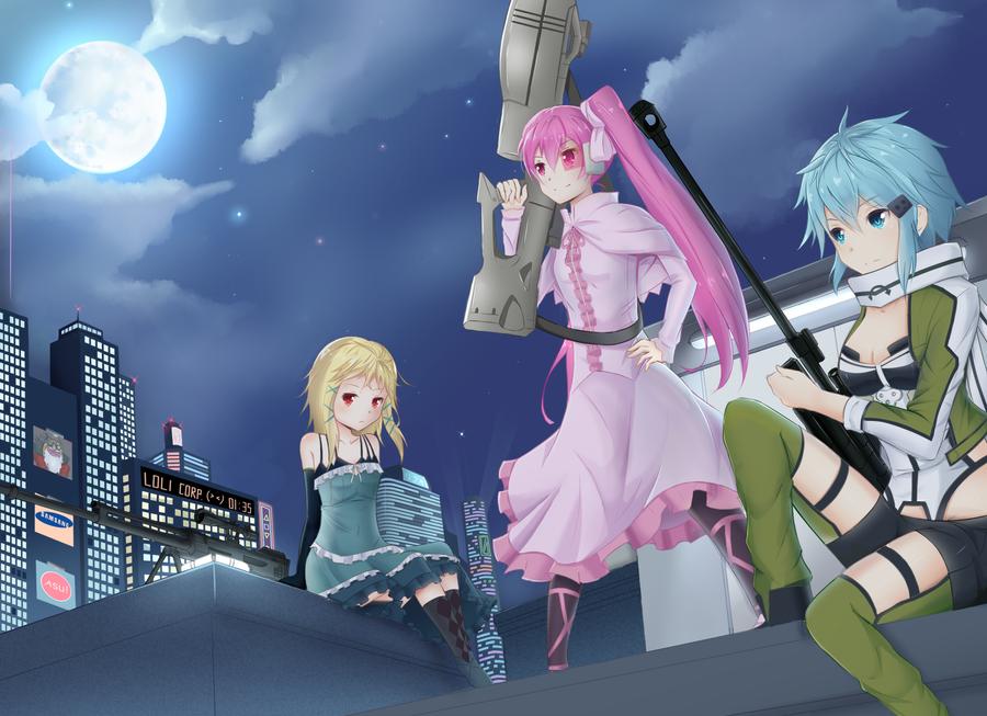 Job : Sniper by RutoRifuki95
