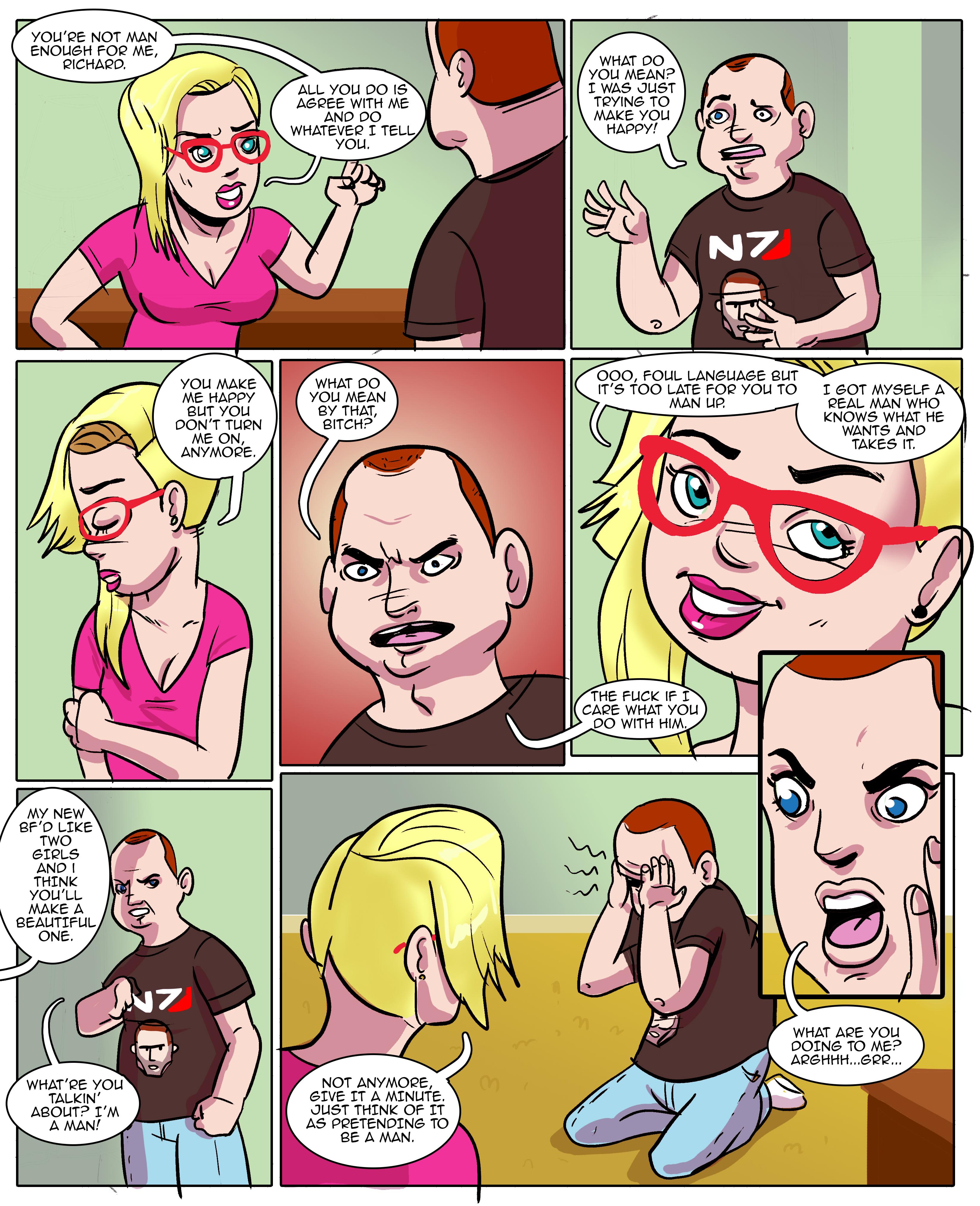 from Mack comic tg transgender