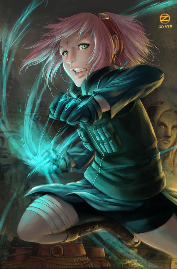 Sakuro Haruno - The Greatest Healing Ninja by ZyrexTheZ