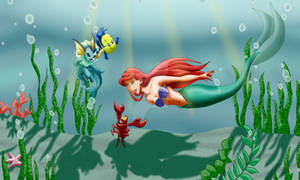 Little Mermaid and Pokemon