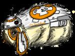 Rabbit Drawings- BB-8