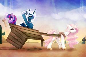 Pre-Equestria by MagnaLuna