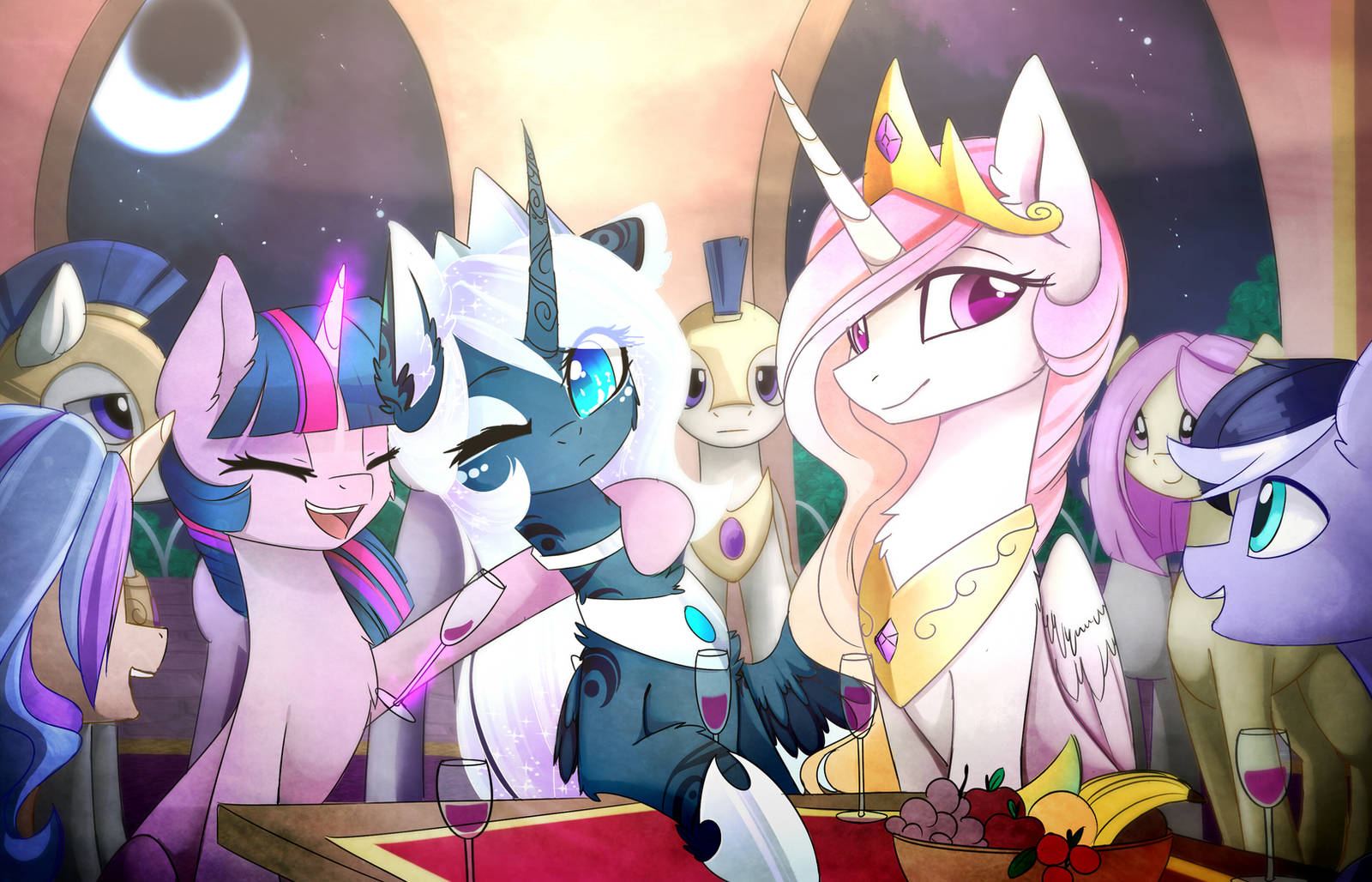Welcome Celebration by MagnaLuna