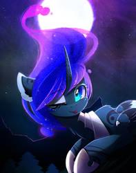 Blue Luna by MagnaLuna