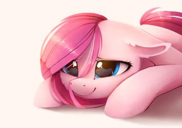 Pink Pony by MagnaLuna