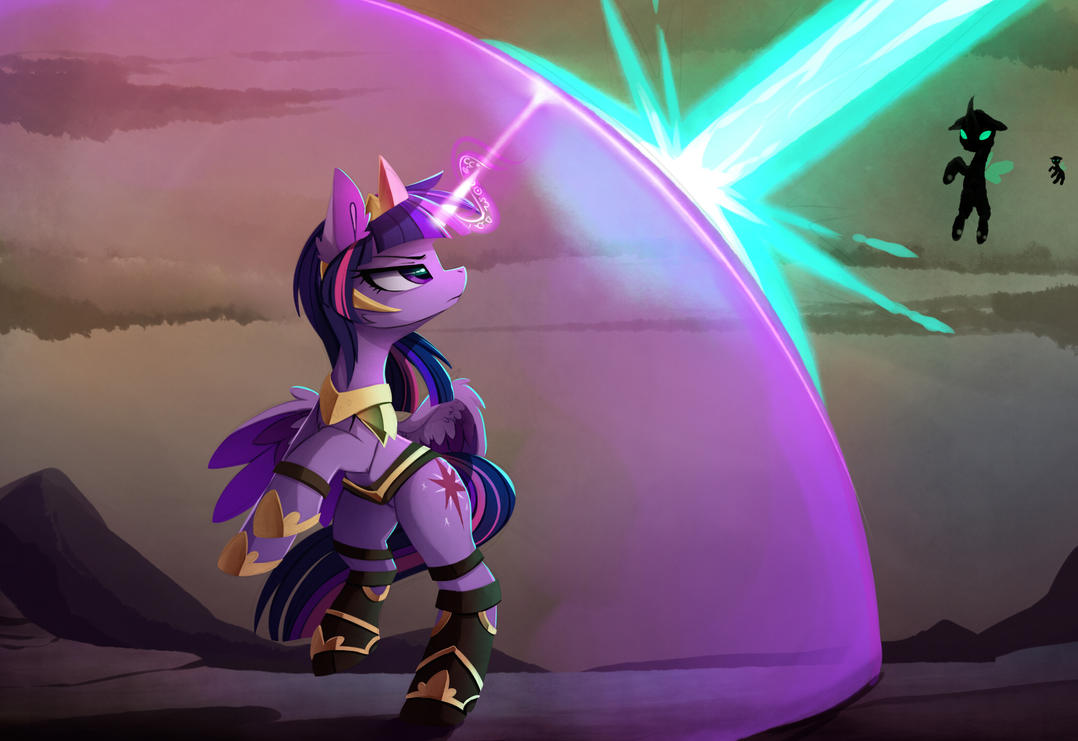 [Obrázek: to_protect_equestria_by_magnaluna-dbc75ny.jpg]