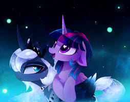 Selena and Twily by MagnaLuna