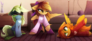 <b>YCH_Cat-Ponies =3</b><br><i>MagnaLuna</i>