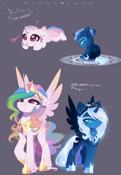 Young tyrants (Magnaverse AU) by MagnaLuna
