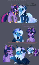 Royal besties by MagnaLuna