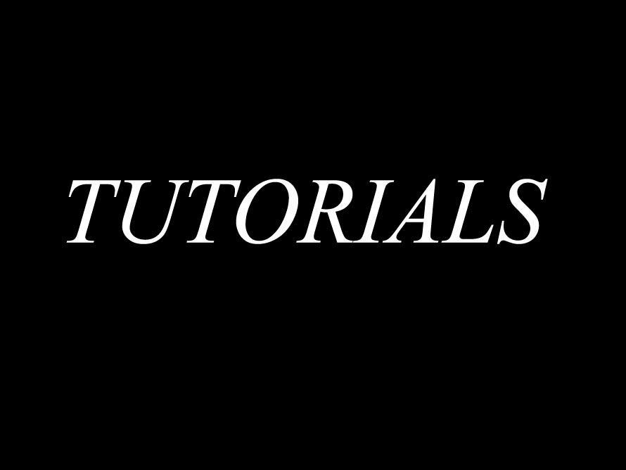 TUTORIALS by AJCTutorials
