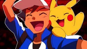 Ash And Pikachu (Pokemon XY)