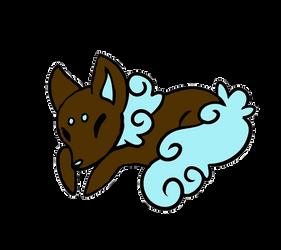 Chocolate Cotton Candy Sugar Fox (CLOSED) by Sugar-Foxes