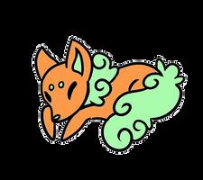 Orange Sherbet Mint Sugar Fox (CLOSED!)