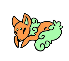 Orange Sherbet Mint Sugar Fox (CLOSED!) by Sugar-Foxes