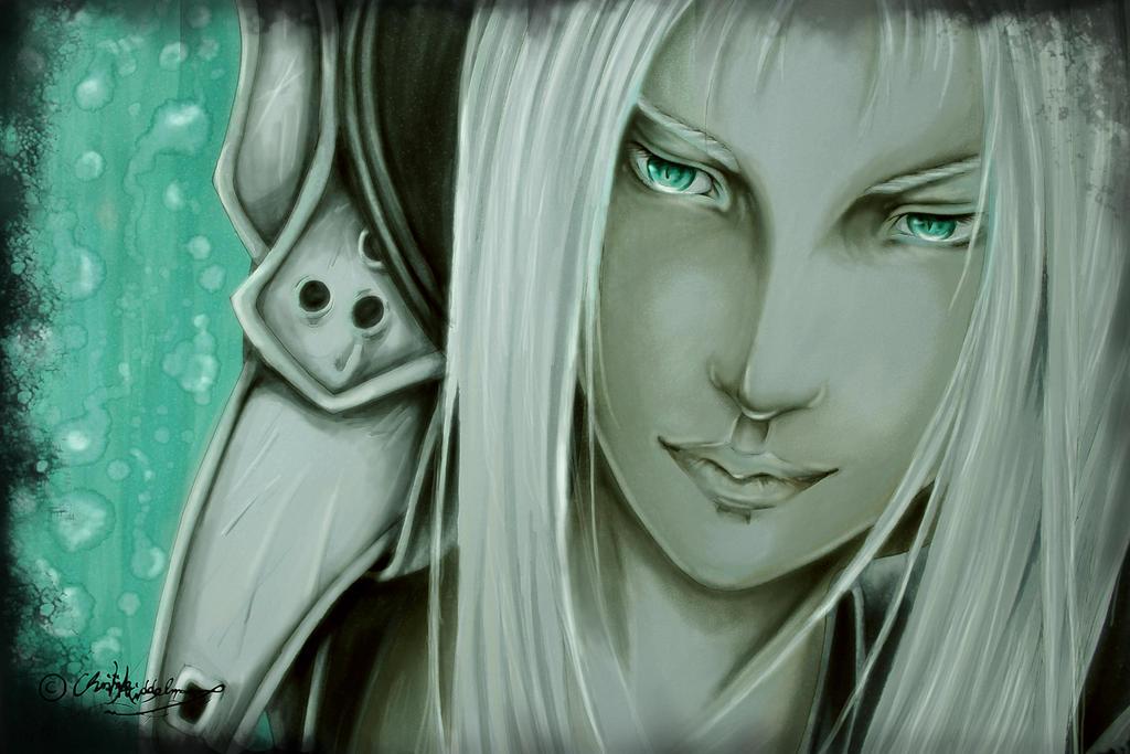Sephiroth by JenovaTheGoddes