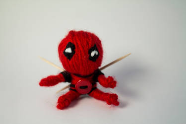 Deadpool voodoo doll