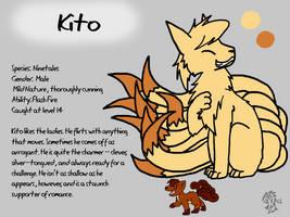 Kito Reference Sheet by DragonwolfRooke