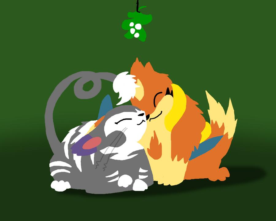 Mistletoe - Rockshipping by DragonwolfRooke